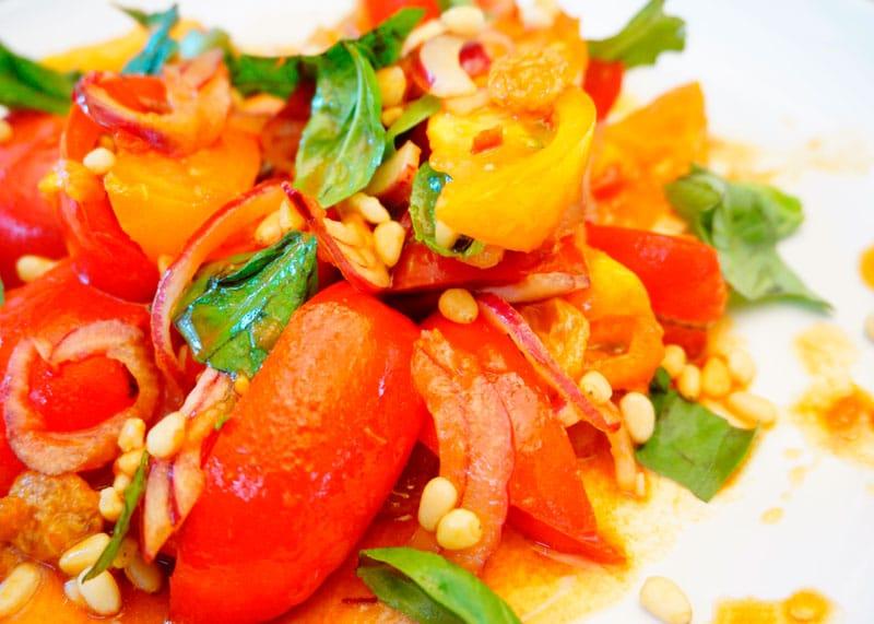 Салат из помидоров и дошаба фото