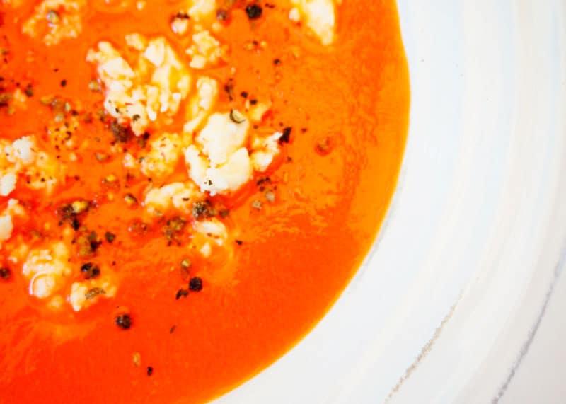 Суп из свеклы и перца фото