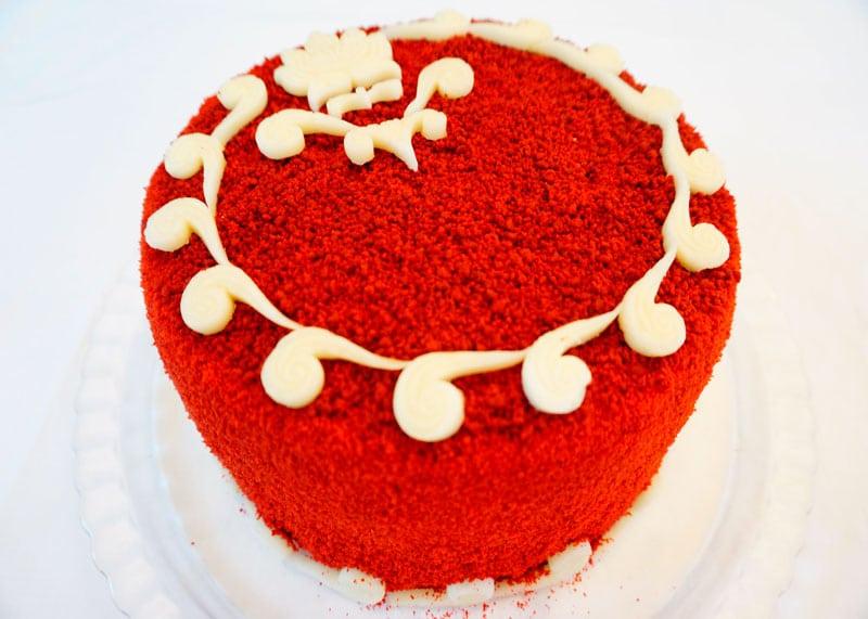 Торт Красный бархат 2 приготовление фото