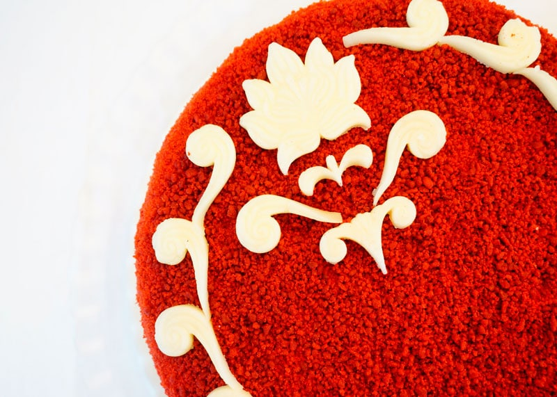 Торт Красный бархат 2 фото