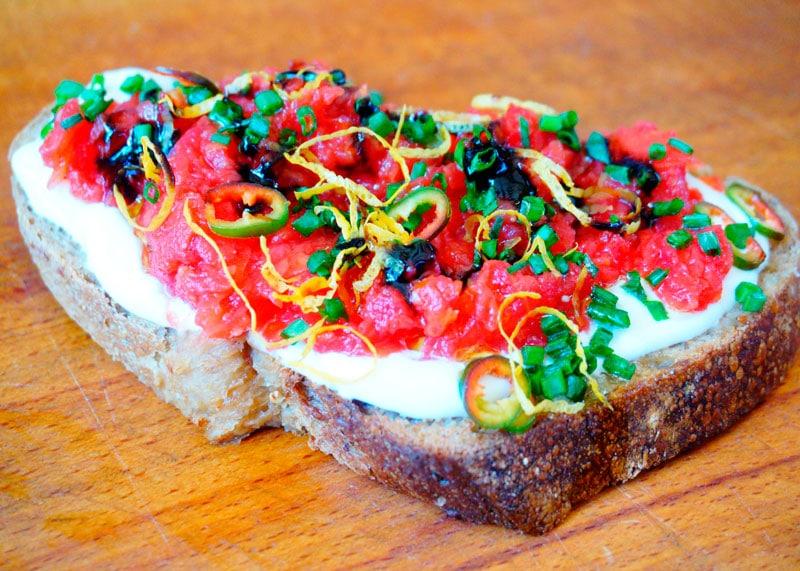 Рецепт тосты с помидорами фото