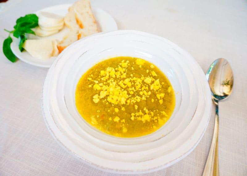 Золотой гаспачо рецепт фото