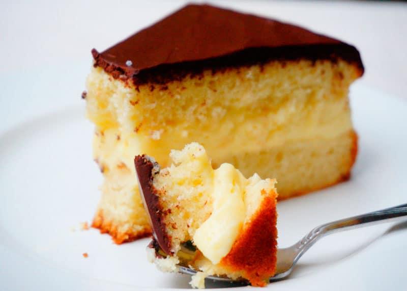Бостонский пирог рецепт фото