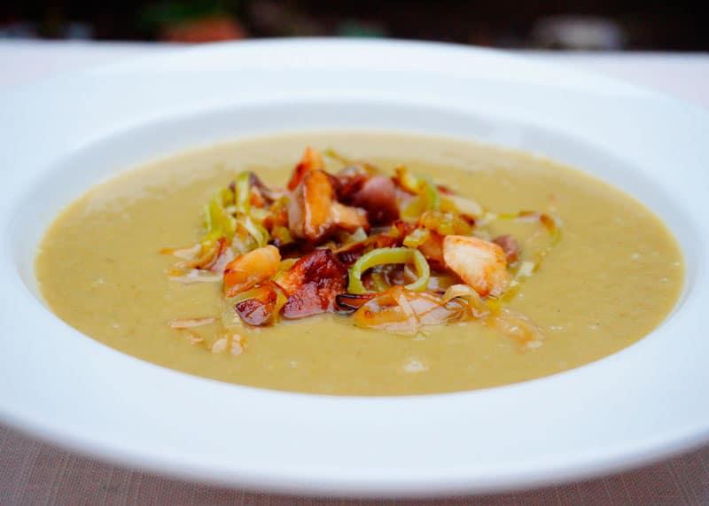 Крем-суп из стручковой фасоли фото