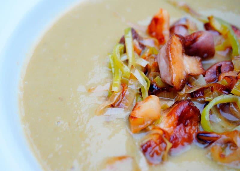 Крем-суп из стручковой фасоли приготовление фото