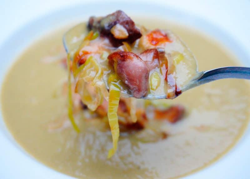 Крем-суп из стручковой фасоли рецепт фото