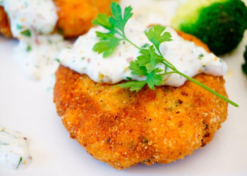 Рыбные котлеты по-ирландски рецепт фото