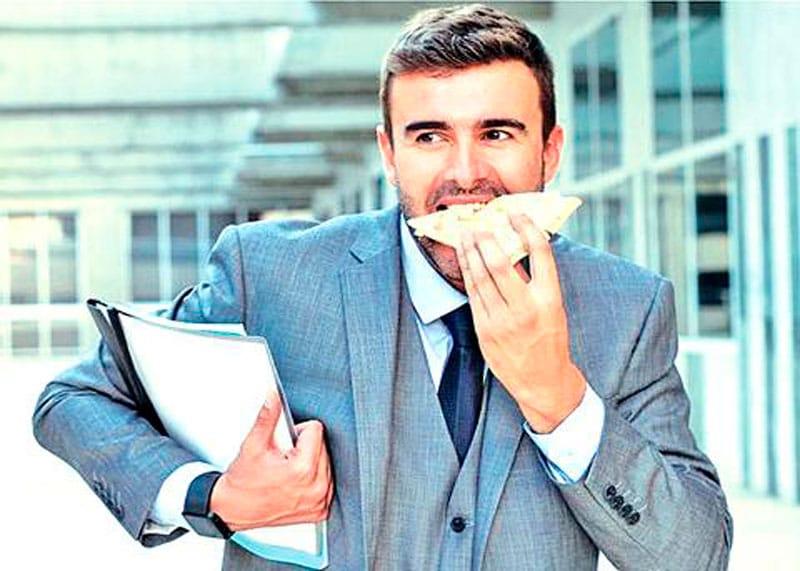 Здоровое питание мужчины фото
