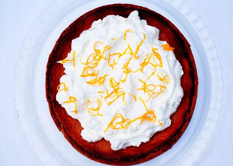 Апельсиново-финиковый пирог фото