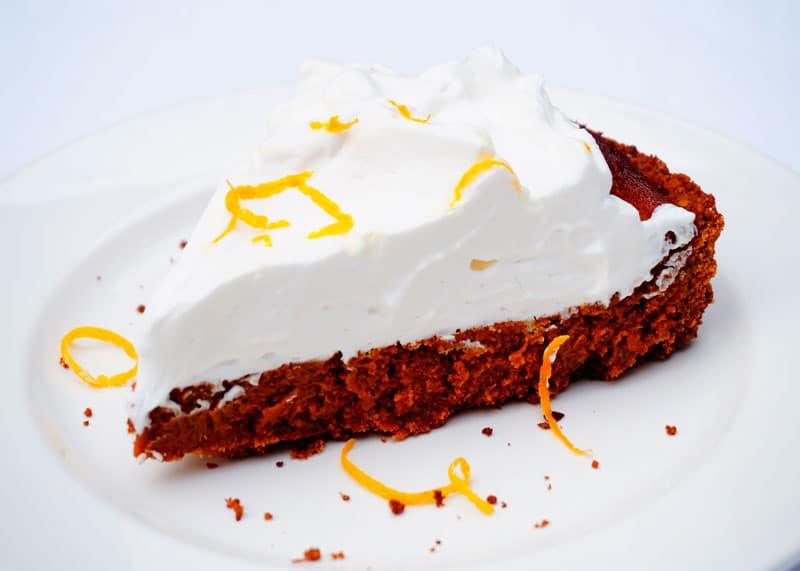 Апельсиново-финиковый пирог приготовление фото