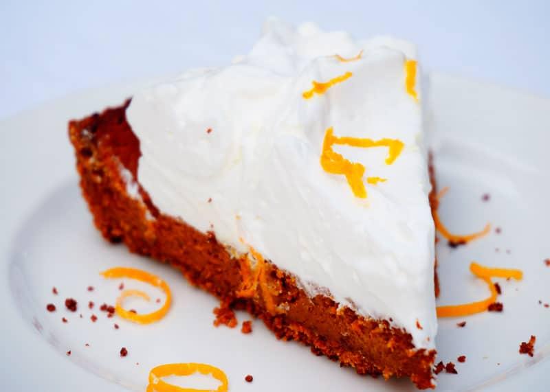 Апельсиново-финиковый пирог рецепт фото