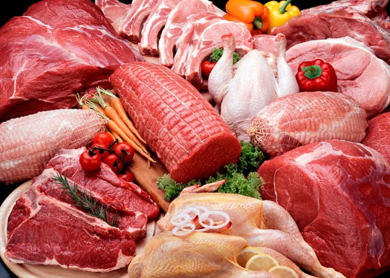 Белое и красное мясо фото