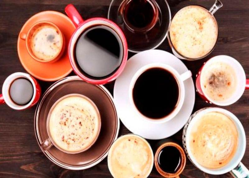 Много кофе фото