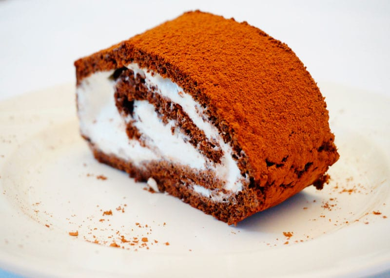 Швейцарский шоколадный рулет рецепт фото