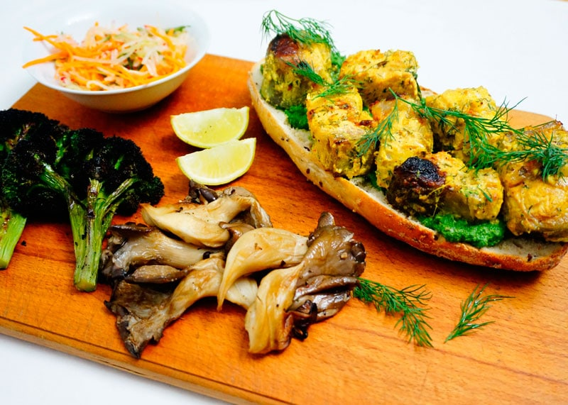 Кебаб из сома по-индийски рецепт фото