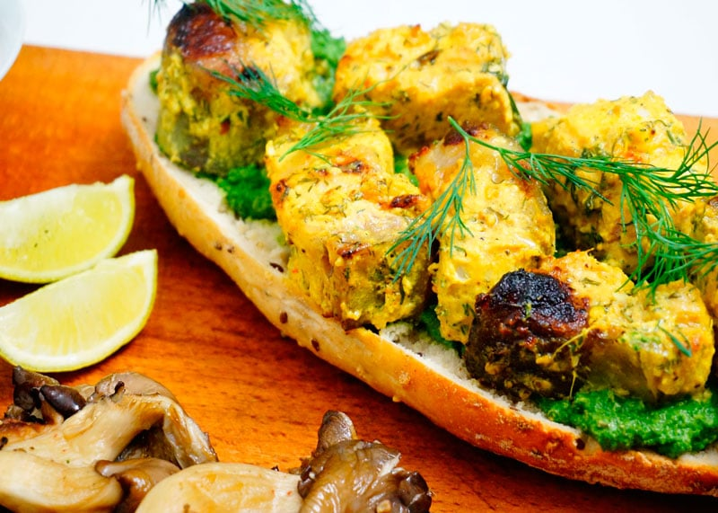 Кебаб из сома по-индийски рецепт приготовления фото