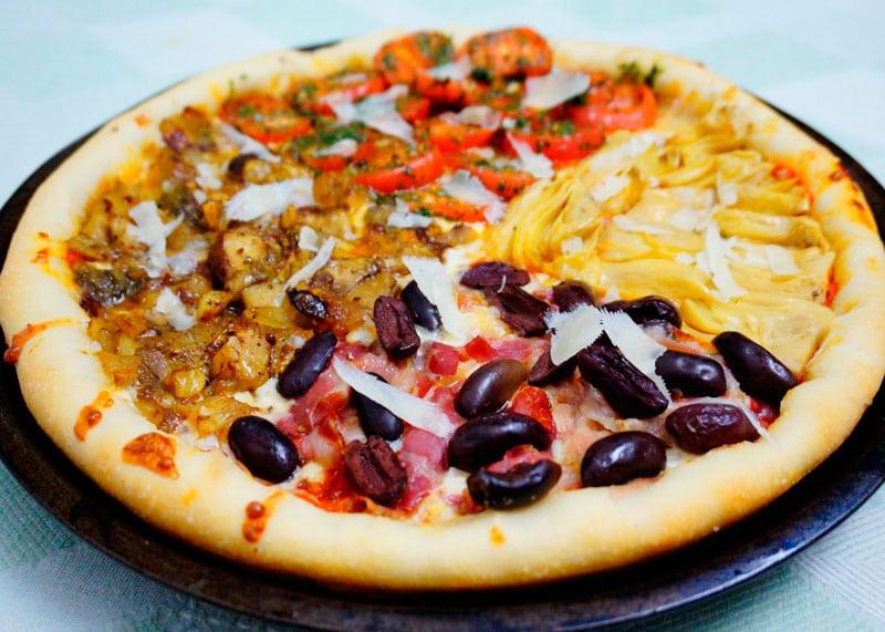 Пицца кватро стаджони приготовление фото