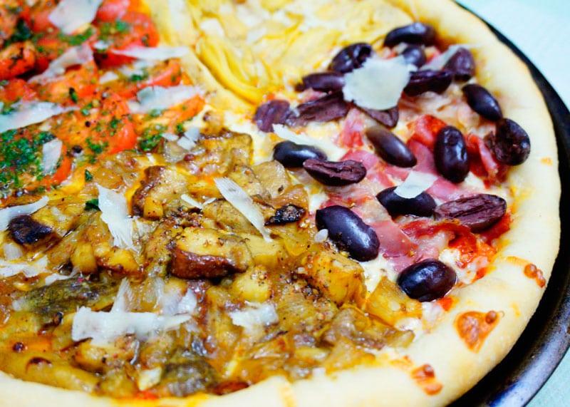 Пицца кватро стаджони рецепт фото