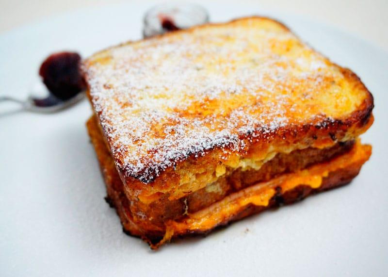Сэндвич Монте-Кристо приготовление фото