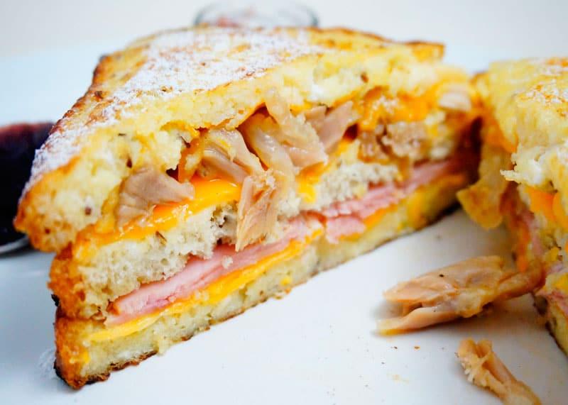 Сэндвич Монте-Кристо рецепт фото