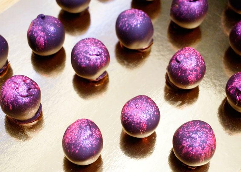 Шоколадные шарики приготовление фото