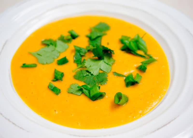 Суп пюре из тыквы и нута рецепт фото