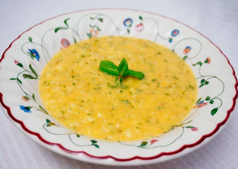 Густой суп из репы рецепт фото