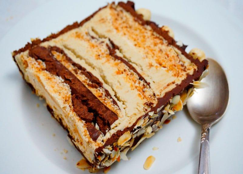 Ле бисквит дакуаз торт приготовление фото