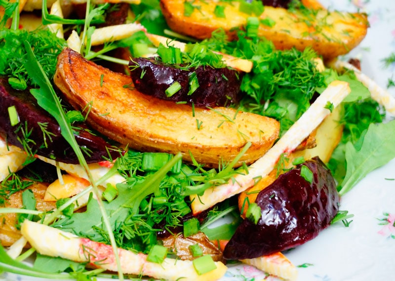 Маринованная свекла с картофелем фото