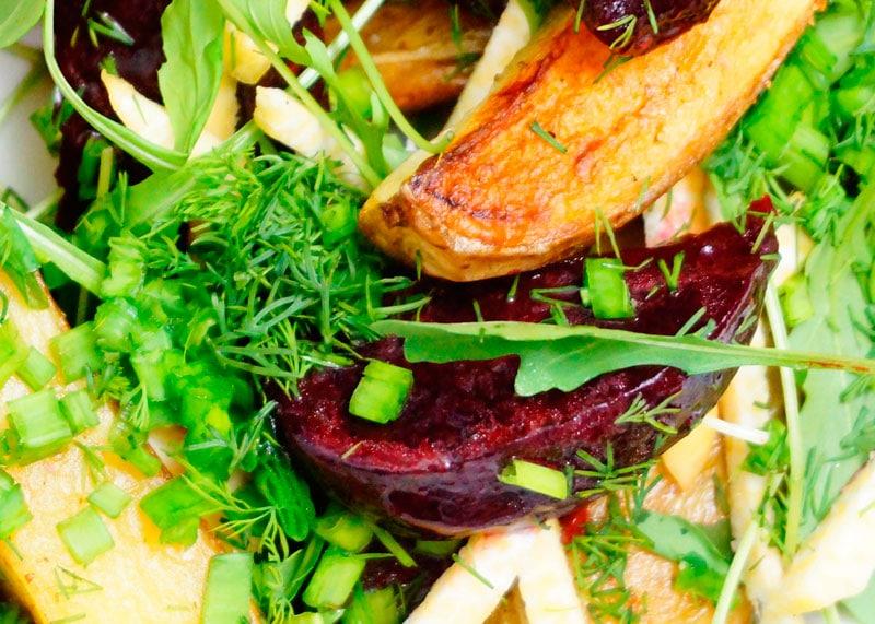Маринованная свекла с картофелем рецепт фото