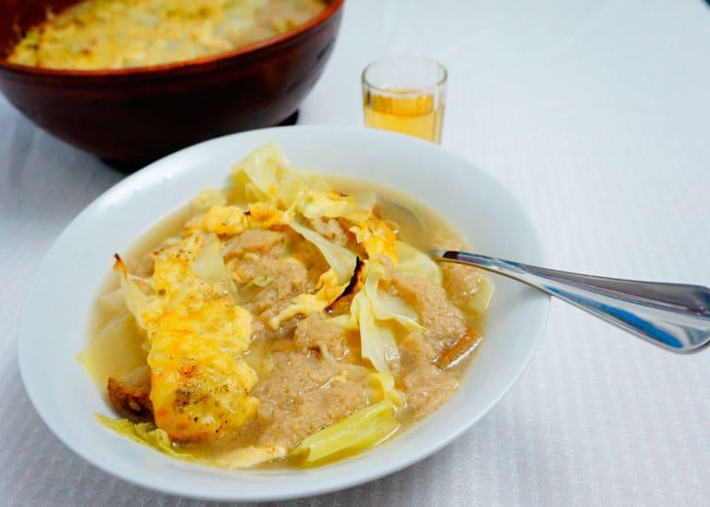 Валпелинский суп приготовление фото