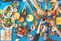 Еда в голубых зонах фото