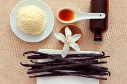 Мороженое с ванилью фото