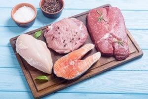Мясо и рыба фото