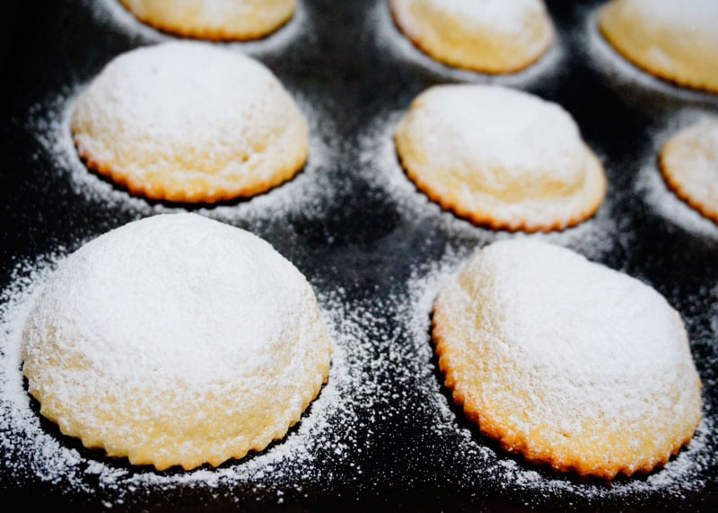 Печенье Дженовези приготовление фото
