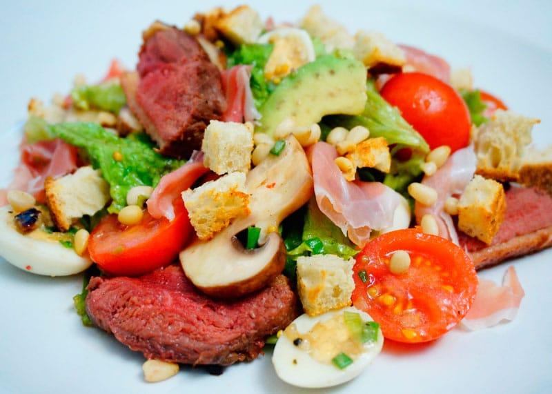 Салат из утиной грудки рецепт приготовления фото