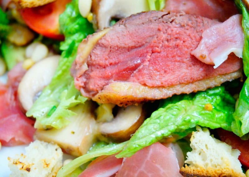 Салат из утиной грудки рецепт фото