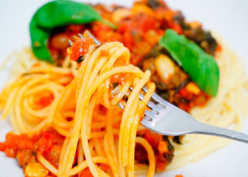 Спагетти по-сицилийски рецепт фото