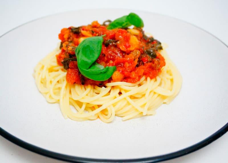 Спагетти по-сицилийски фото