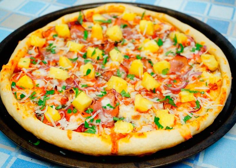 Гавайская пицца рецепт фото