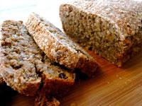 Хлеб из проросших зерен фото