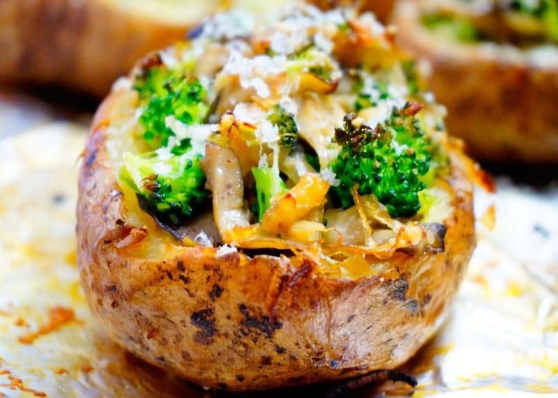 Картофель с грибами рецепт фото