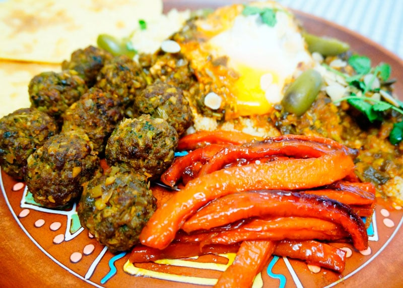 Марокканские мясные шарики рецепт фото