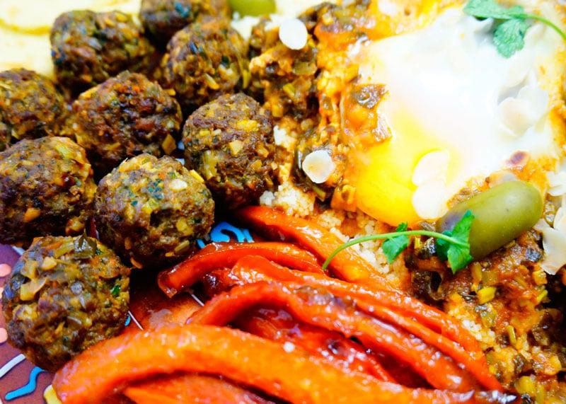 Марокканские мясные шарики фото