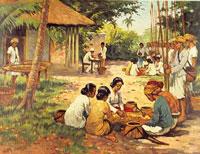 Мускатный орех сбор фото