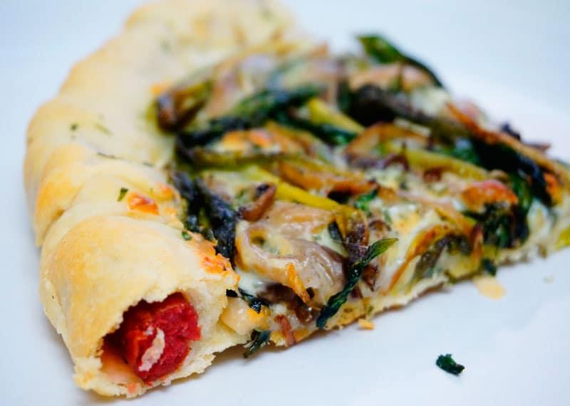 Пицца с колбасной корочкой рецепт фото