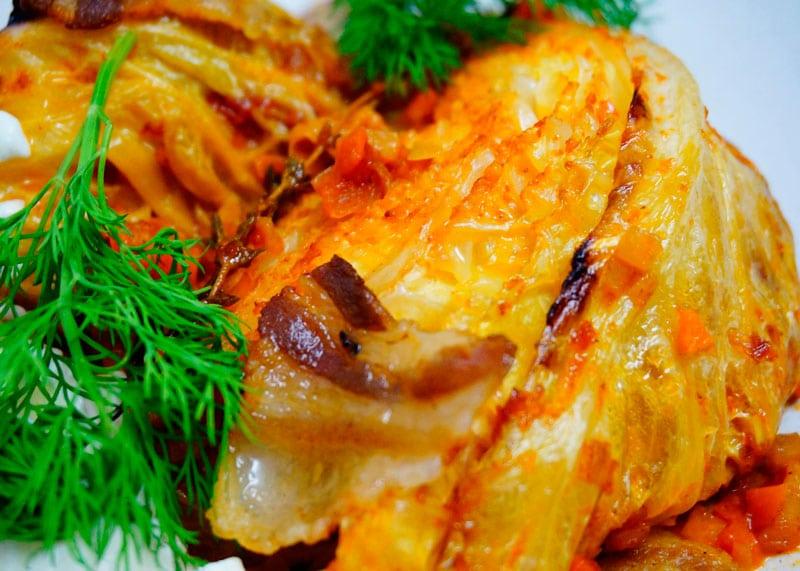 Савойская капуста в томатном соусе рецепт фото