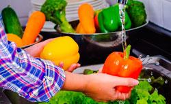 Чистые овощи фото
