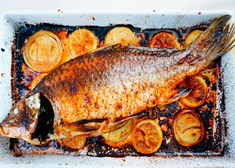 Карп по-ломбардски рецепт приготовления фото