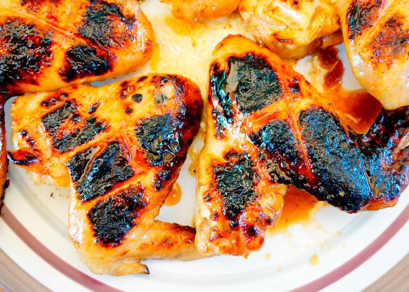 Крылышки на гриле по-французски рецепт фото